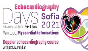 Echocardiography Days - Sofia 2021 and Doppler echocardiography course with Prof. N. Pandian